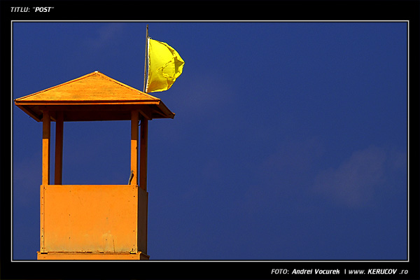 Fotografia Post / Beach Watch-Tower, album Peisaj urban si suburban / Urban and Suburban Landscape, Malia, Grecia, Insula Creta / Greece, Crete, KERUCOV .ro © 1997 - 2018 || Andrei Vocurek