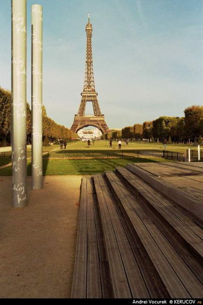 Fotografia Turnul Eiffel - IV / The Eiffel Tower / Tour Eiffel - IV, album Paris, aici si acolo / Paris, Here And There, Paris, Franta / France, KERUCOV .ro © 1997 - 2018 || Andrei Vocurek