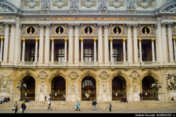 Fotografia Opera din Paris - Palatul Garnier / Opera de Paris - Palais Garnier, album Paris, aici si acolo / Paris, Here And There, Paris, Franta / France, KERUCOV .ro © 1997 - 2018 || Andrei Vocurek