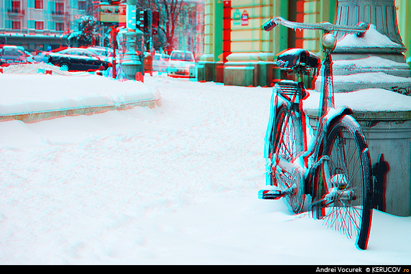 Bicicleta (3D) / The Bicycle (3D), Bucuresti