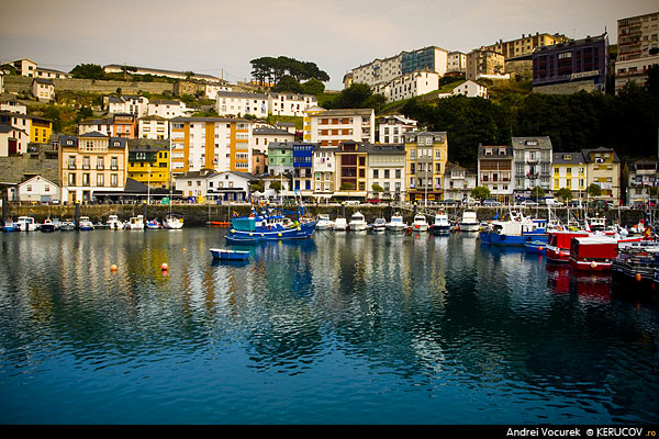Fotografia Portul din Luarca / Port Of Luarca, album Spania, vazuta ca o destinatie turistica / Spain, Seen As A Travel Destination, Luarca, Spania / Spain / Espana, KERUCOV .ro © 1997 - 2018 || Andrei Vocurek